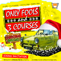 Festive Comedy Dining - Only Fools & 3 Courses Xmas Special