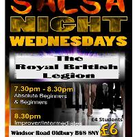 Oldbury Salsa Classes