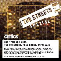 antics Clubnight x The Streets Spezial x YES x Free Entry