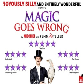 Magic Goes Wrong | Vaudeville Theatre London   | Sun 12th December 2021 Lineup