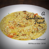 A Sardinian Feast in East London