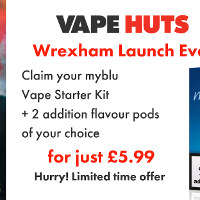 Vape Huts Launch Event