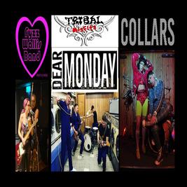Tribal Misfits + Ftzz Wallace Band + Collars + Dear Monday