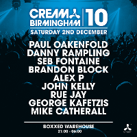 Cream Birmingham 10th Birthday