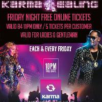 Karma Ealing - Back N Forth - Fri 30th MAR - Free Online tickets
