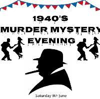 1940s Vintage Murder Mystery