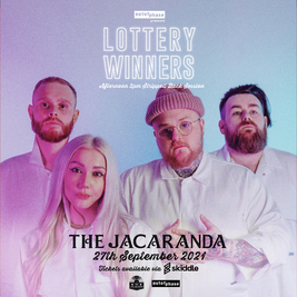 Lottery Winners Stripped Back Instore + Signing