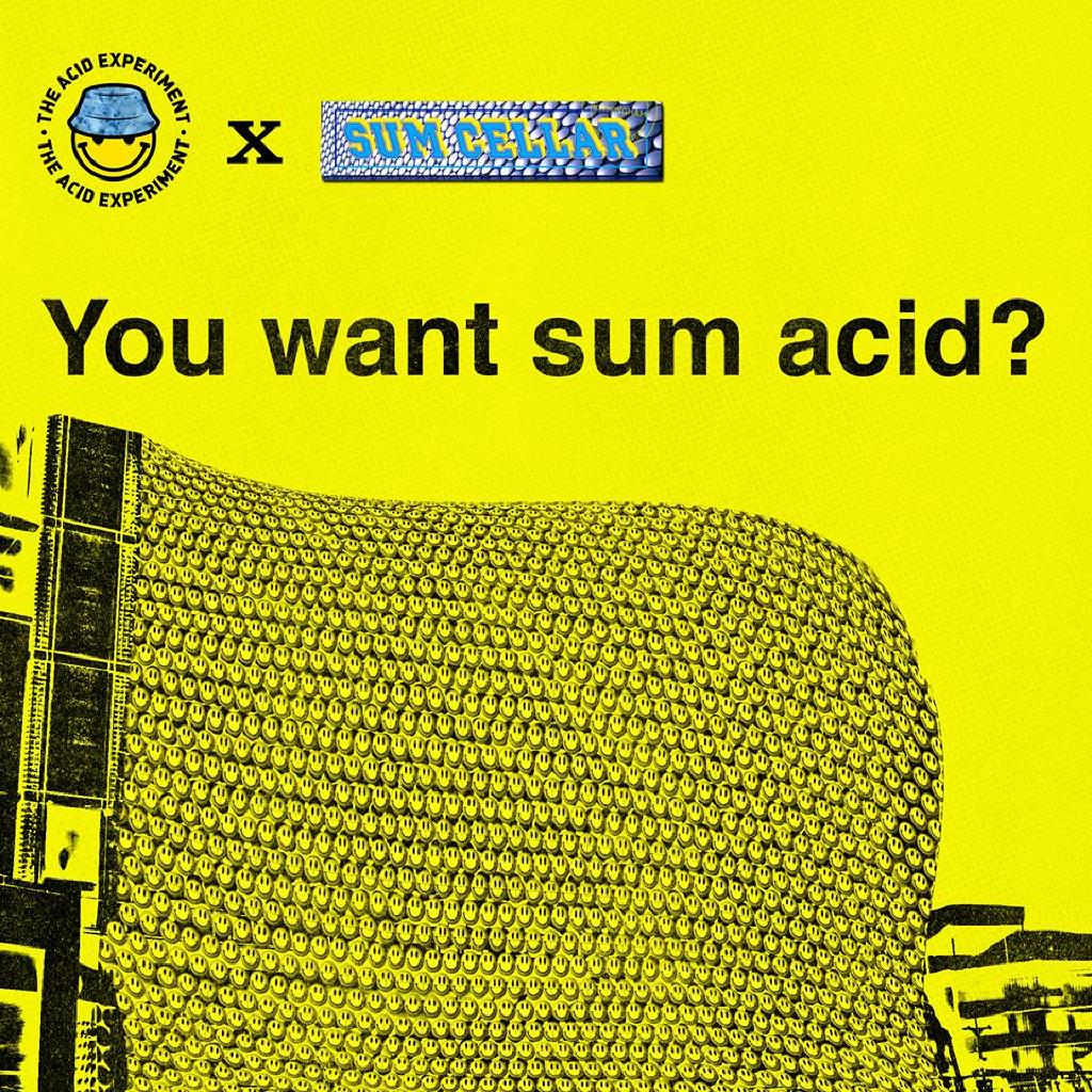 The Acid Experiment x Sum Cellar Presents: YOU WANT SUM ACID?