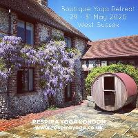 BOUTIQUE SPRING RETREAT, WEST SUSSEX, 29 - 31 MAY 2020