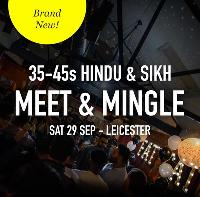 FREE Hindu & Sikh Meet and Mingle Dating, Leicester - 35-45s