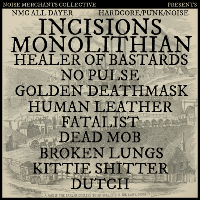 nmc hardcore/punk/noise all dayer