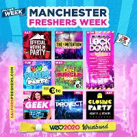 The OFFICIAL – Manchester Freshers Week MMU Wristband is NOW ON SALE!