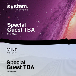 MiNT Warehouse - Day & Night Terrace party - Mon 21st June