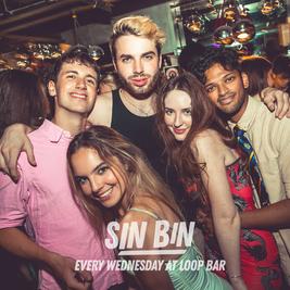 SIN BIN Sports Night at Loop Bar - SUPERHERO PARTY