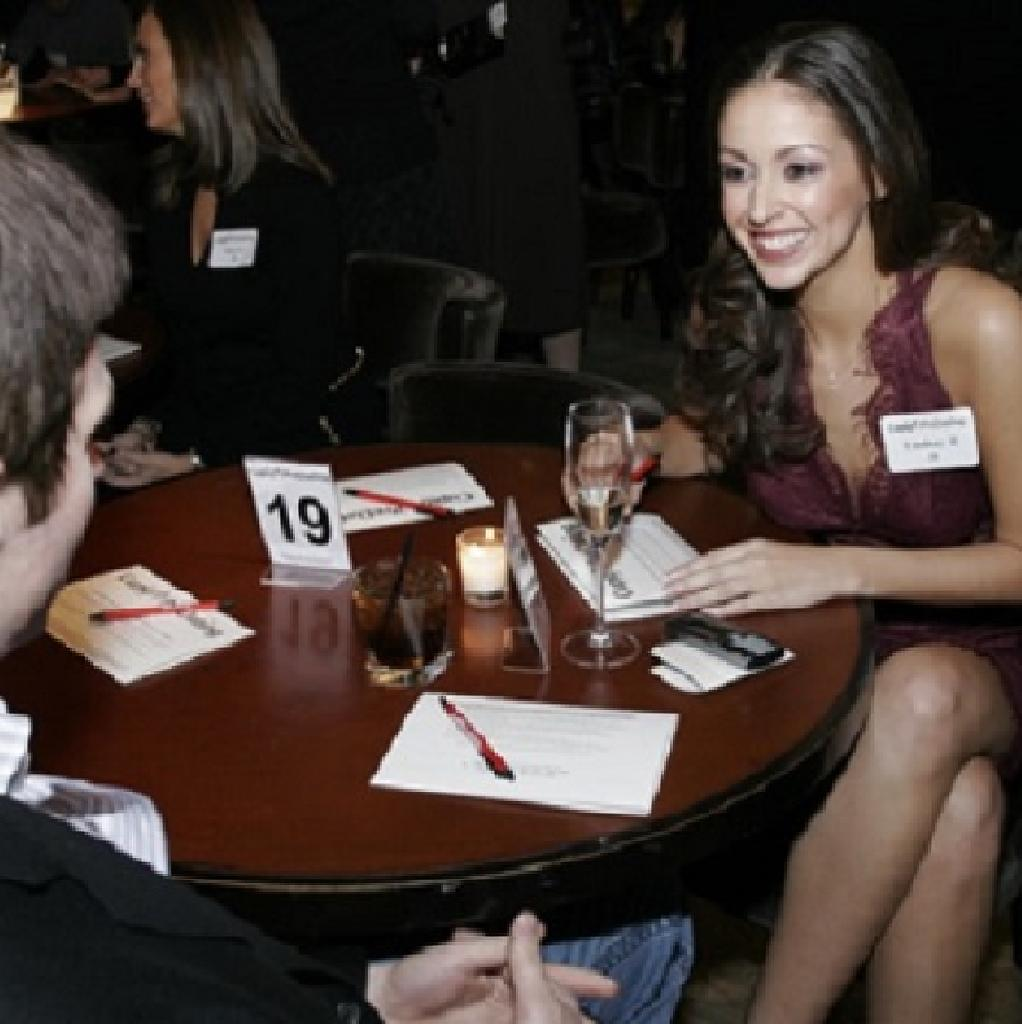 Professionals in the city speed dating reviews