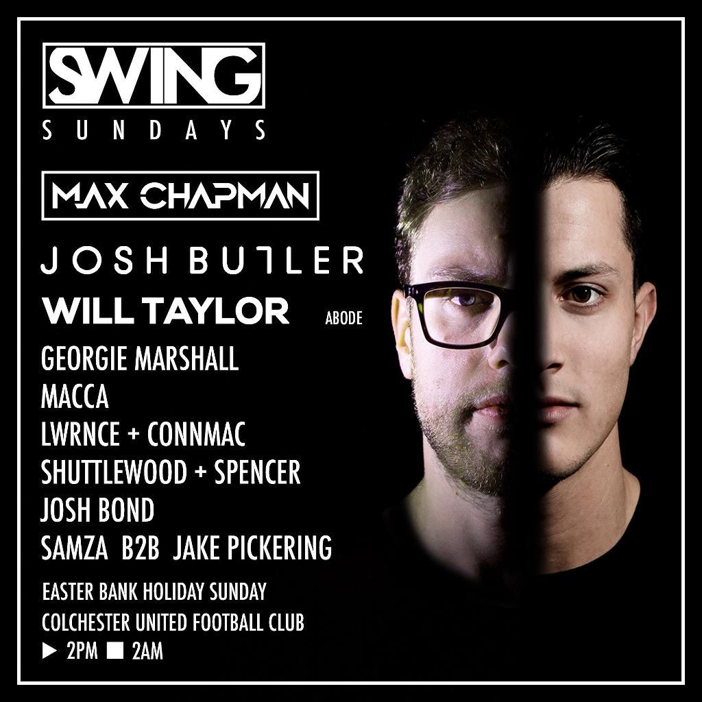 Swing Sundays Presents Josh Butler, Max Chapman, Will Taylor