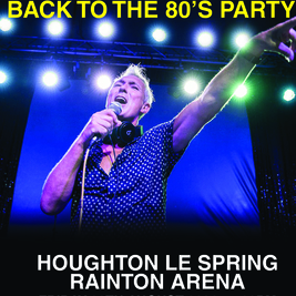 Martin Kemp Back To The 80s Party