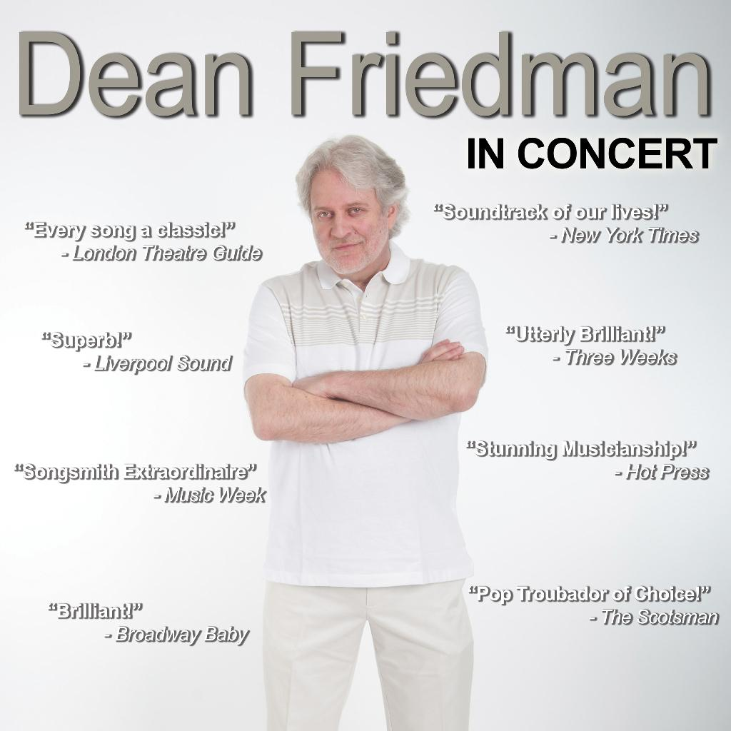 Dean Friedman In Concert | Crescent Arts Centre Belfast | Fri