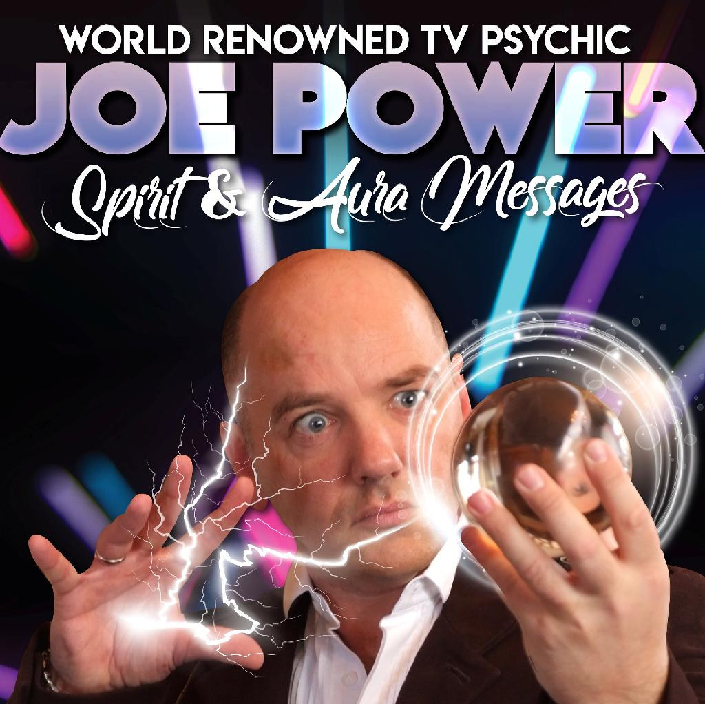 TV Psychic Joe Power Spirit & Aura Show