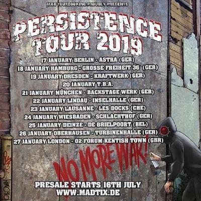 Persistence Tour 2019