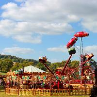 Vintage funfair in Croxley Green - car show special!
