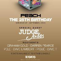 Peach -  The 25th Birthday