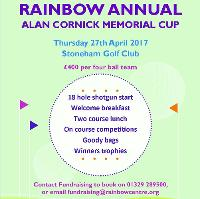 Rainbow Centre Golf Day at Stoneham