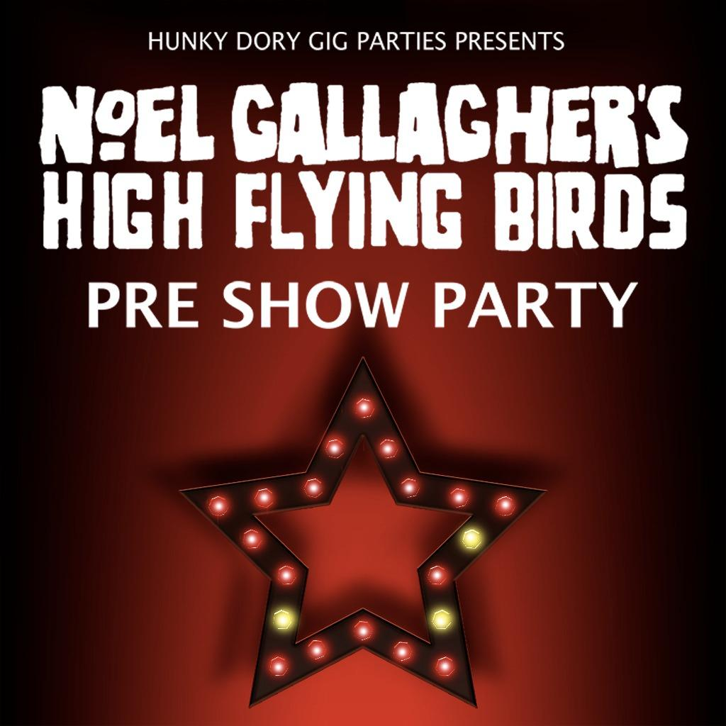 Noel Gallagher HFB Pre Show Party