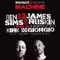 Resonate x Machine w/ Ben Sims B2B James Ruskin (3 HOUR SET)