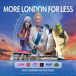 Merlin's Magical London: 3 Attractions In 1 – Sea Life + Shrek's Adventure! + Madame Tussauds
