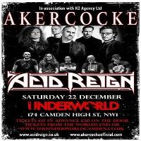 Akercocke and Acid Reign