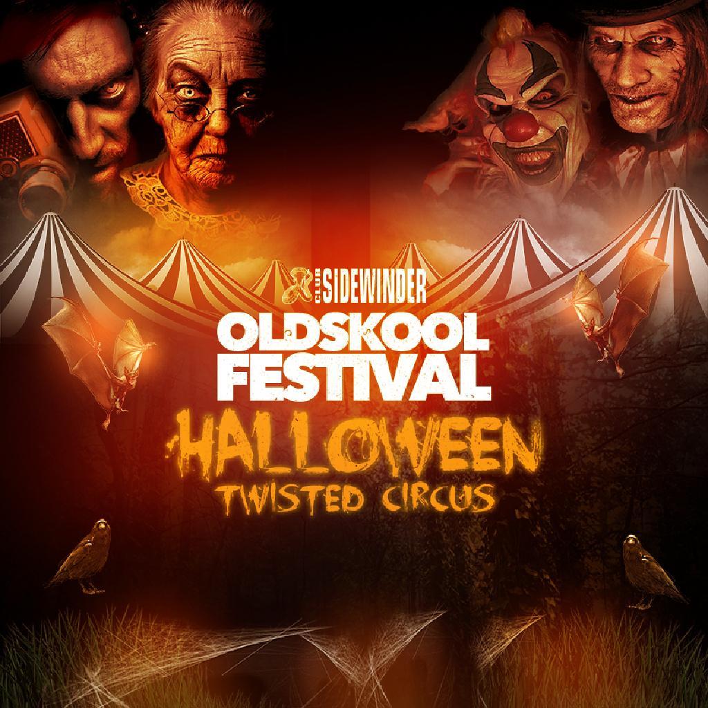 Sidewinder Oldskool Festival Halloween Twisted Circus