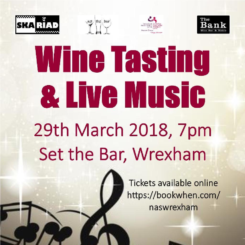 Live Music by Skariad & Wine Tasting