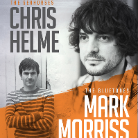 chris helme (the seahorses) & mark morriss (the bluetones)