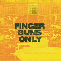 FINGER GUNS ONLY ☜ STOP THE ARMS FAIR FUND-RAVER.