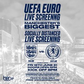 England vs Scotland - Uefa Euro Live Screening
