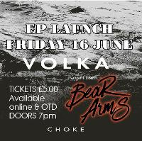 Volka Ep Launch with support from Bear Arms