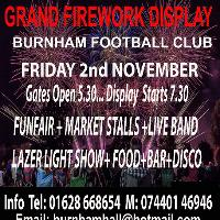 Family Grand Bonfire Night Extravaganza