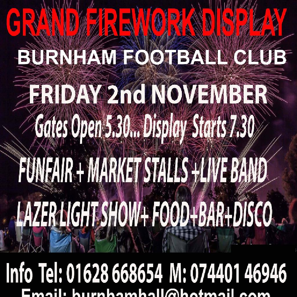 Family Grand Bonfire Night Extravaganza