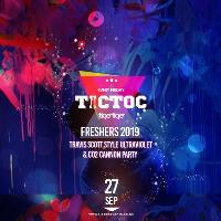 Tic Toc Freshers UV & Co2 Cannon Party