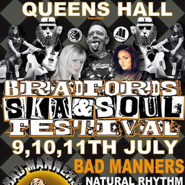Bradford ska & soul festival @queens hall FT Bad Manners
