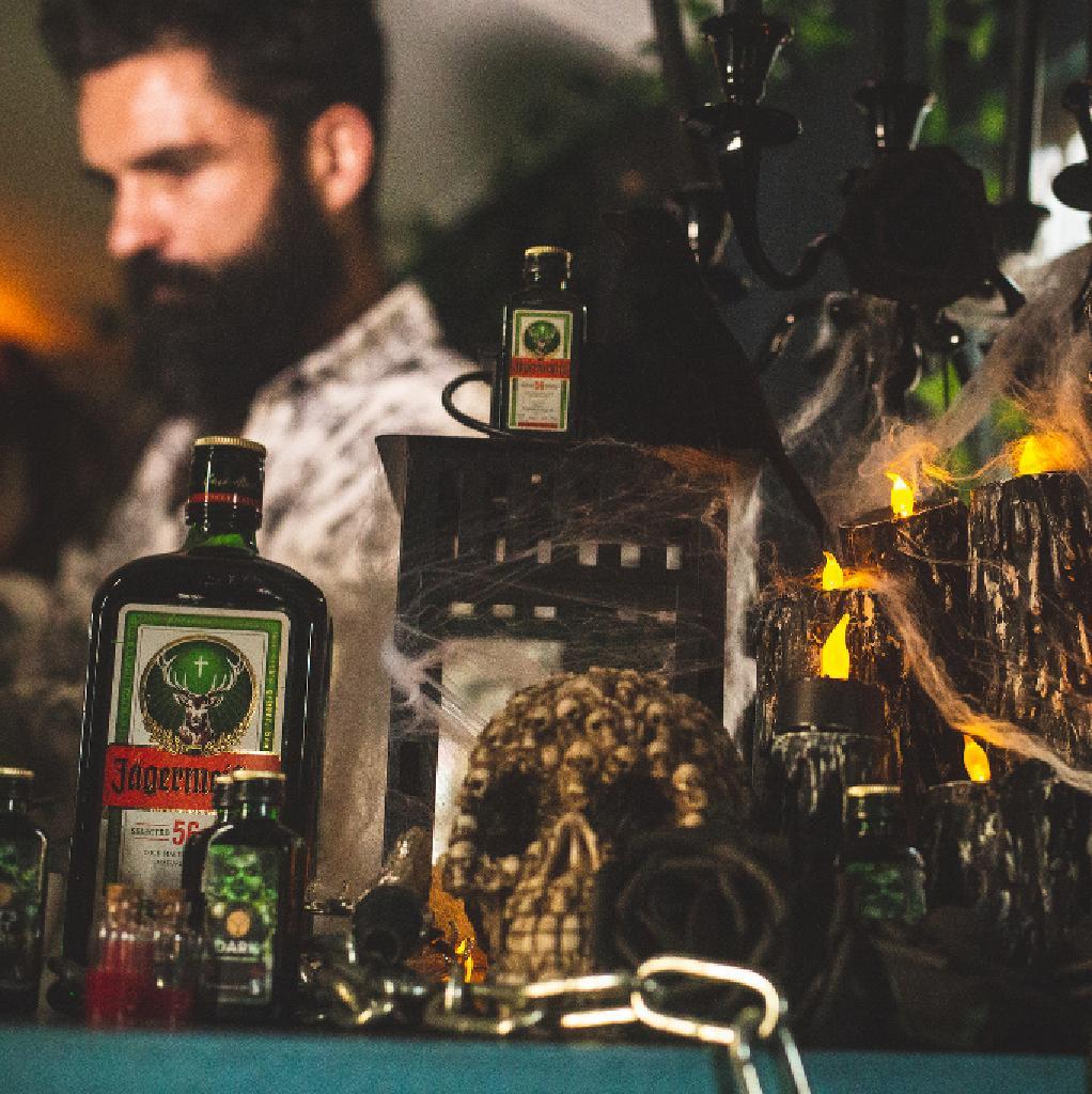 """Jägermeister presents floating bar """"The Dark Spirit"""""""