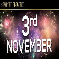 Stanmore Fireworks Display, Saturday 3rd November 2018