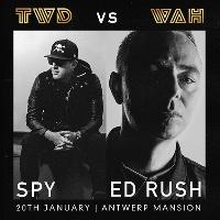 TWD Presents  ED RUSH / S.P.Y