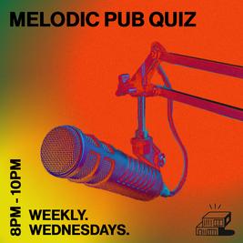 Melodic Pub Quiz - with host Jobi