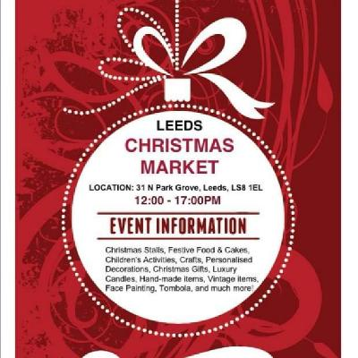 Leeds Christmas Market Raising Money for the Children hospital