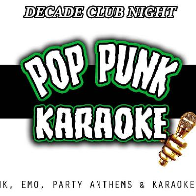 Decade - Pop Punk Karaoke Tickets | La Belle Angele Edinburgh | Sat