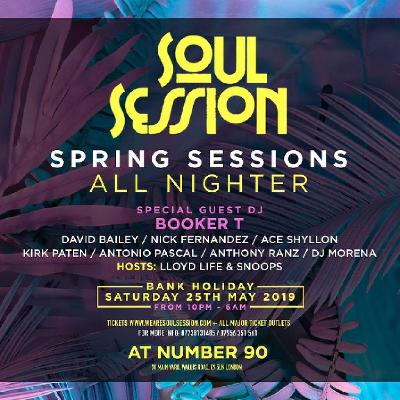 Soul Session Presents Spring Sessions