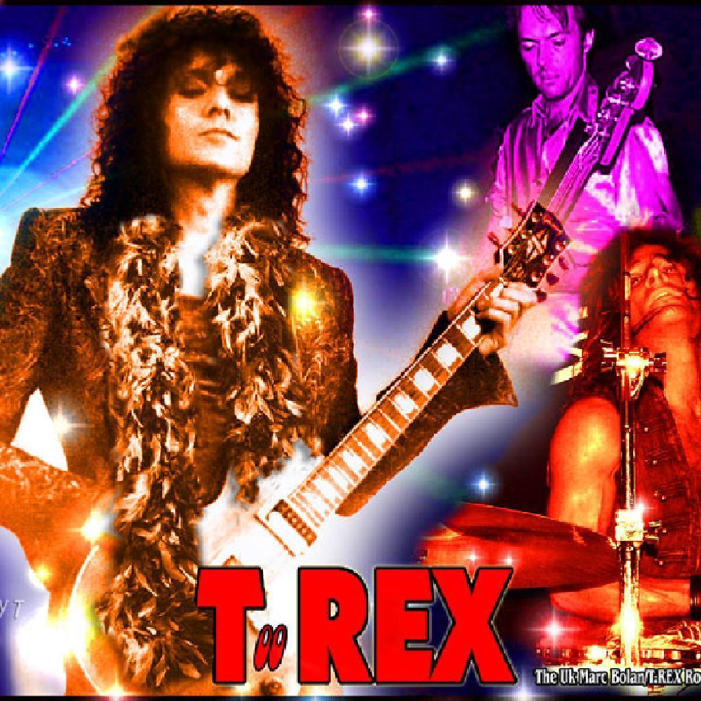 Marc Bolan And T. Rex - Futuristic Dragon