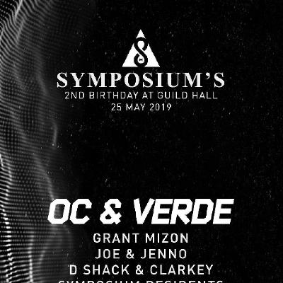 Symposiums 2nd Birthday At Guild Hall, W/ OC & VERDE, 25/05/2019